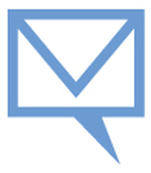 Mail icon _ Blue