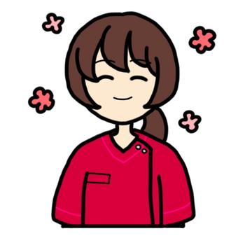 Smiling female nurse_03