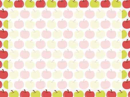 A lot of apples background 2