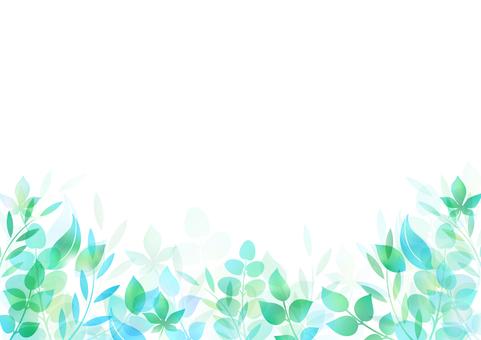 Fresh green material 114