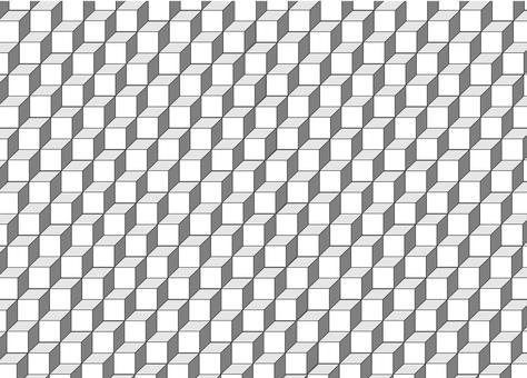 Geometric pattern _ square _ solid 1