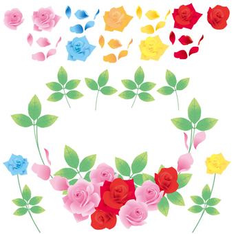 Rose parts