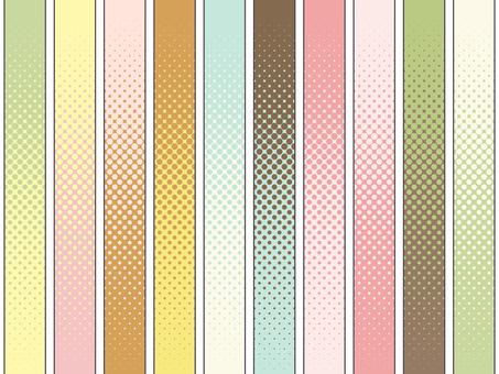 パターン-ドットグラデーション