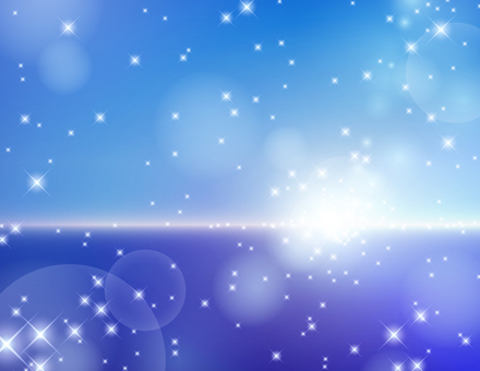 Blue sea and sky image background _ glitter