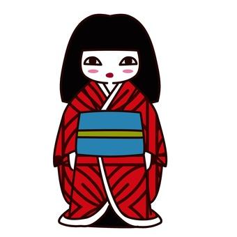 일본 인형