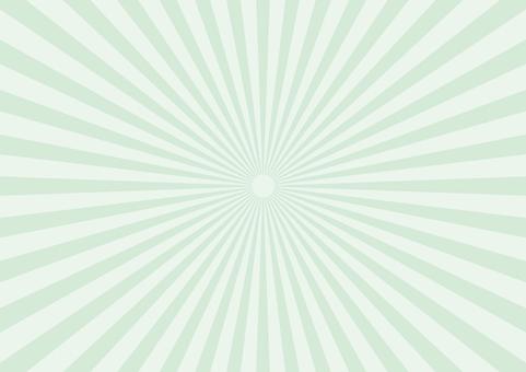 Pastel Radiation Detail Green