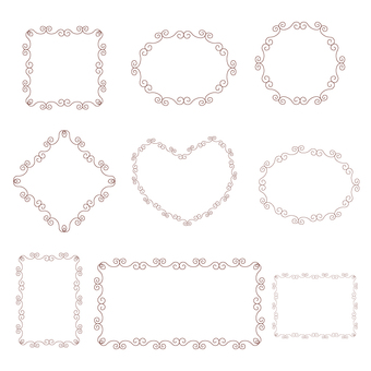 Decorative frame set 1