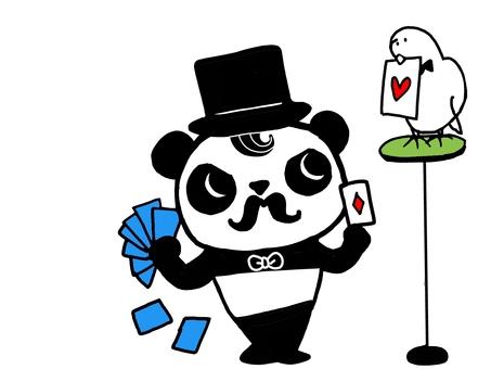 Panda-kun becomes a magician 5