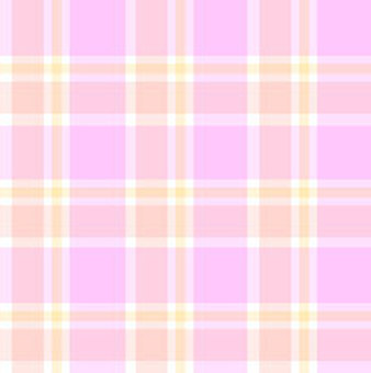 Pink check material