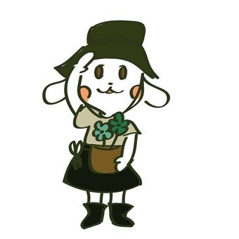 Dog to do gardening