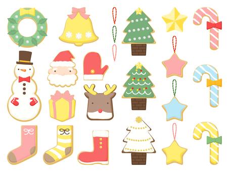 聖誕節裝飾結冰風格