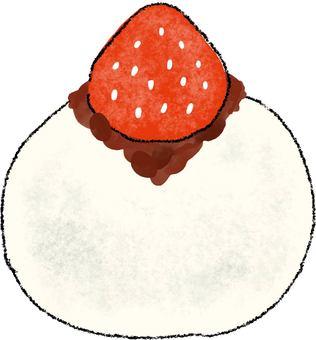 Tsubuan's Strawberry Daifuku