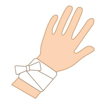 Image of injury (wrist)