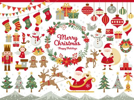 聖誕節插圖集(5c)