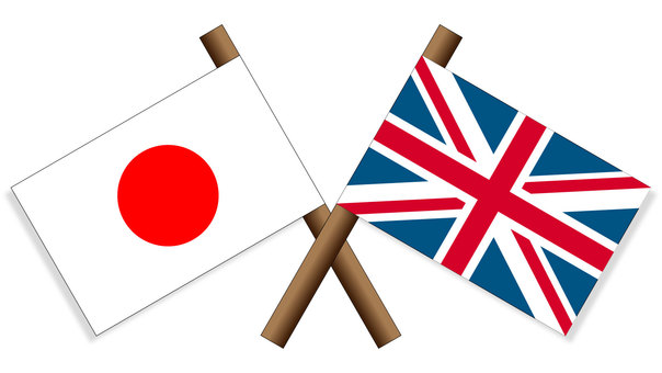 Flag Japan × United Kingdom