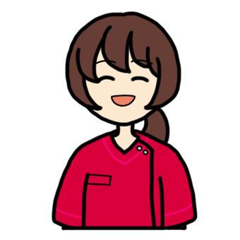 Smiling female nurse_02