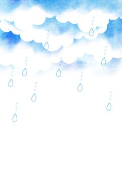 可以在夏天48雨天使用的背景材料
