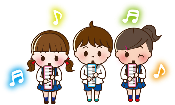 三個人pianica