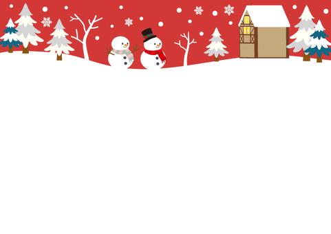 Christmas Frame No. 6