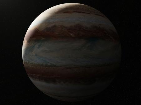 ジュピター(木星)と影