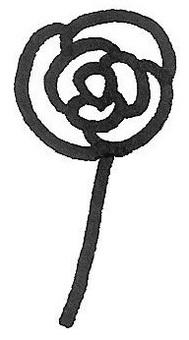 장미 한송이 rose