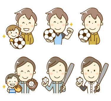 スポーツまとめ_サッカーと野球
