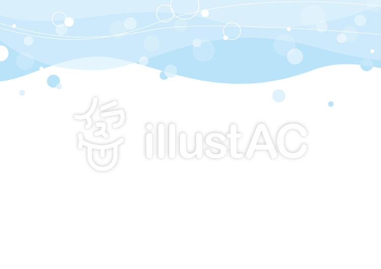 波背景のイラスト