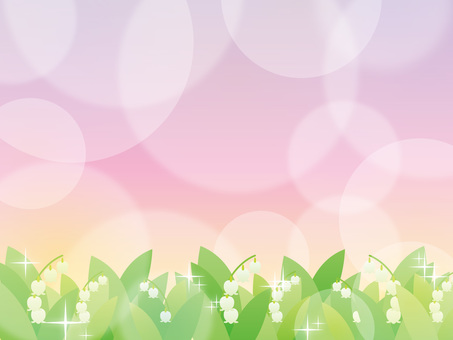 Lily of the valley _ background 02