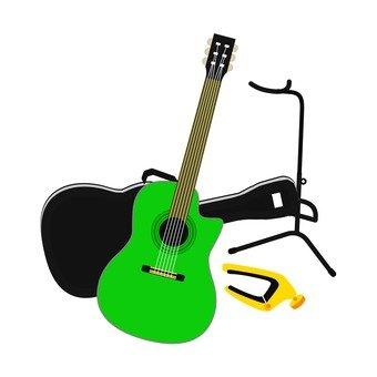 Guitar equipment set 1