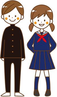 Student uniform body (winter) _No.05
