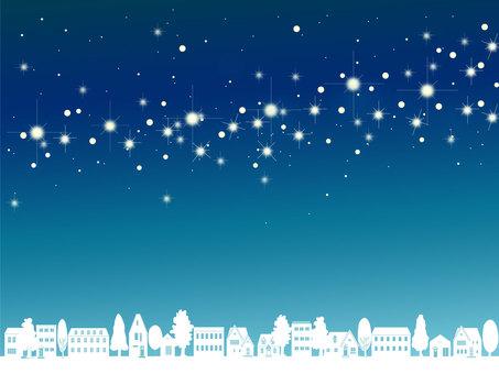 街と星のフレーム