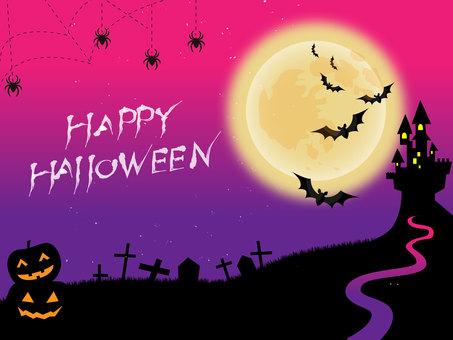 Halloween background 4