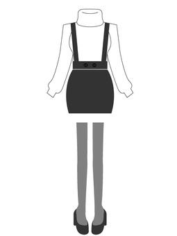 High West Pencil Skirt Coat