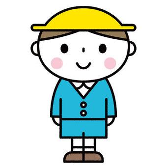 귀여운 소년 / 유치원 / 보육 / 원아