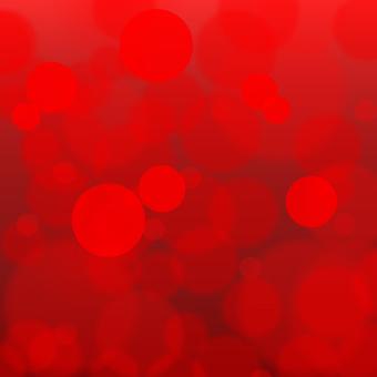 Ball blush red