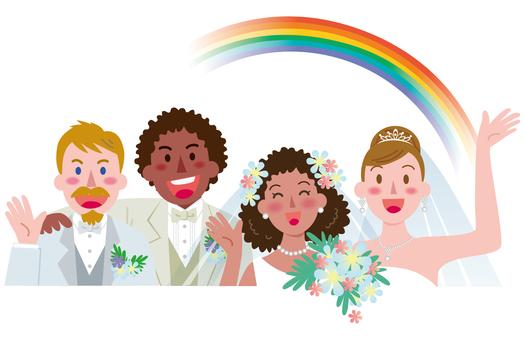 동성 커플의 결혼 -2