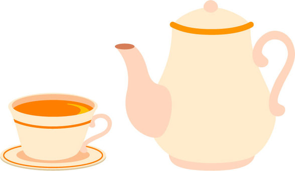 Tea and tea pot
