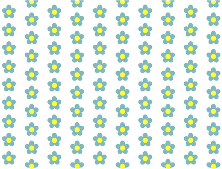 Flower wallpaper (light blue)