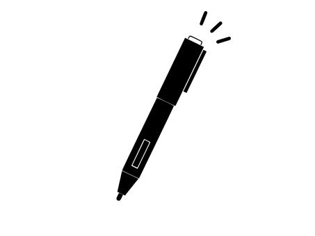 Touch pen (upper button)