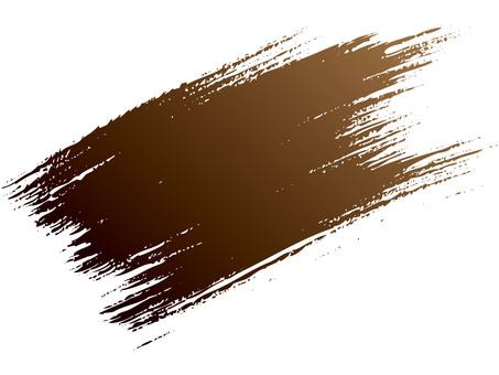 Brush line (bamboo, brown to black)