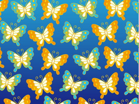 Japanese pattern of butterfly