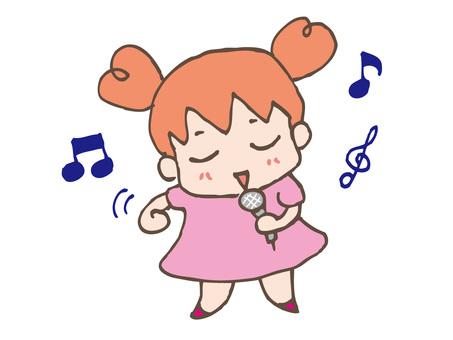 Ru-chan sings
