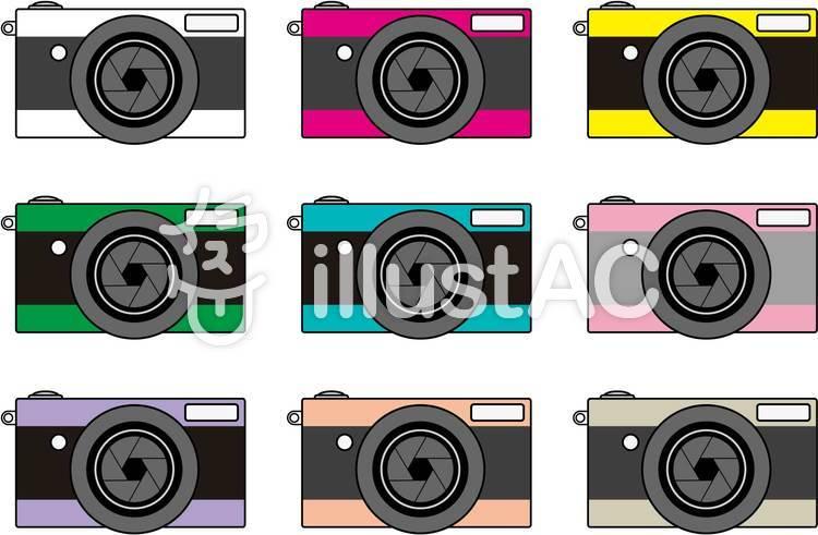 カメラ・iconのイラスト