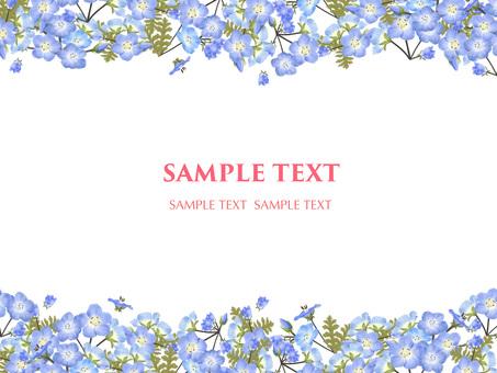 5 월의 꽃 네모 피라 3 프레임