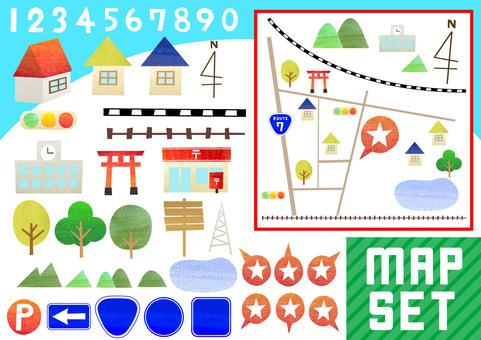 Set of maps