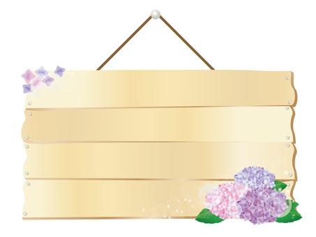 Hydrangea board 2