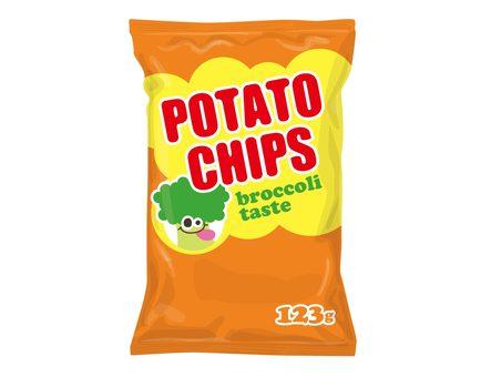 Potato broccoli flavor
