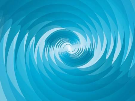 Stylish blue wallpaper