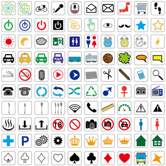 Icon set color