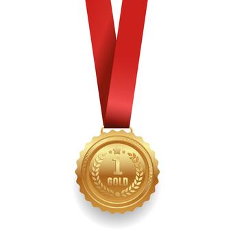 Gold medal (No1)